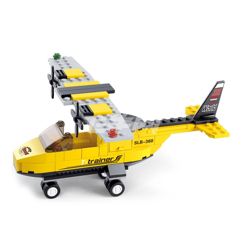 模型快递车国际机场概念飞机小型运输机教练机正品