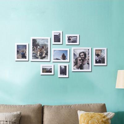 忆年华 实木挂墙相框 创意画框组合 欧式简约 照片墙相框墙客厅 婚纱