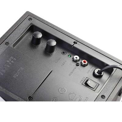 漫步者R201T06多媒体台式电脑2.1声音音箱 低音炮 木质音响 正品音响报价