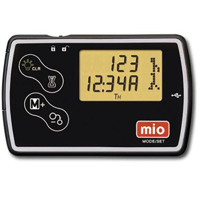 mio迈欧卡片式计步器电子多功能跑步运动手表卡路里老人计步器
