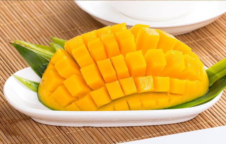 【杞农优食】越南玉芒新鲜水果 单果200-300g 5斤装 清甜核小进口芒果低价