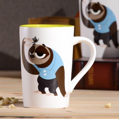 动物城马克杯 陶瓷创意卡通情侣家用办公水杯