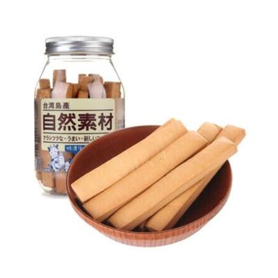 自然素材 特浓牛奶棒饼干 180g/瓶 (台湾地区进口)