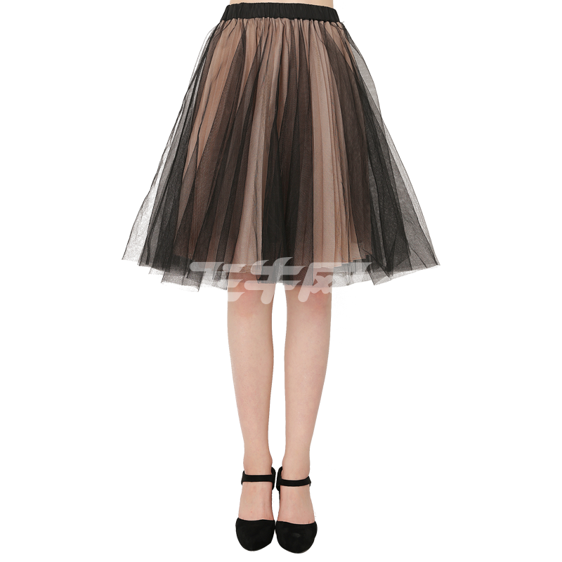 highday轩日秋女裙甜美可爱公主蓬蓬裙百搭中长裙qz1608b8140