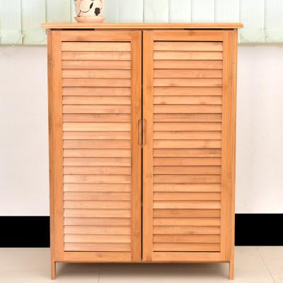 鞋柜实木高 大容量玄关柜