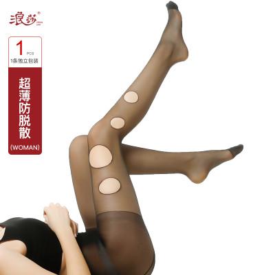V6861浪莎5D超薄防脱散丝袜夏季超薄包芯丝美肤防晒丝袜随意剪防勾丝袜怎么样