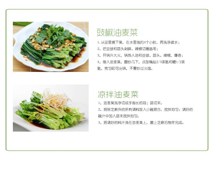 1号鲜客 新鲜油麦菜1000g  莜麦菜2斤 苦菜 牛俐生菜  青菜 蔬菜生鲜 炒菜热卖
