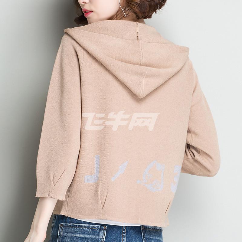 开衫外套女短款韩版宽松针织