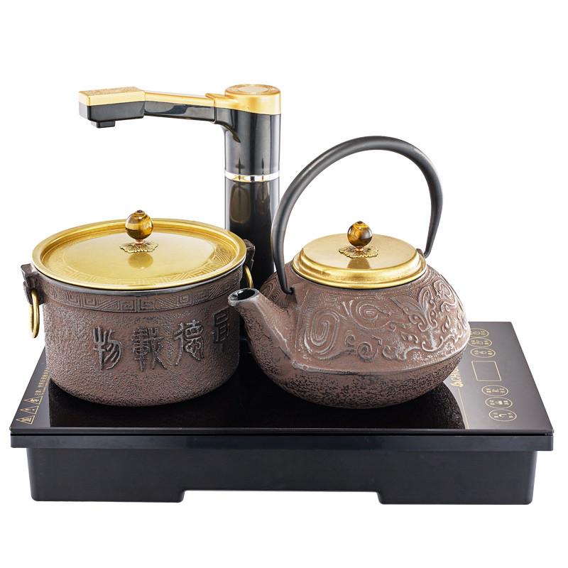 志高(chigo)ld-1608电磁茶炉自动上水电热水壶功夫茶烧水壶养生泡茶铁
