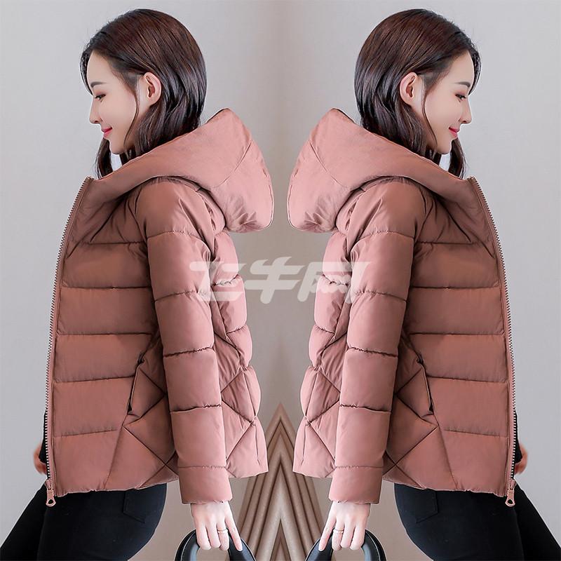 西原美2017新款棉袄女式短款百搭韩版chic小棉衣面包服装冬季加厚外套图片