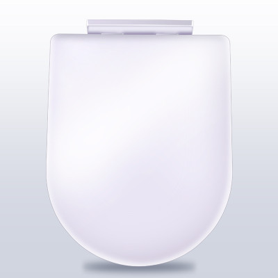 马桶盖通用加厚座便器坐便器盖板缓降马桶盖u型