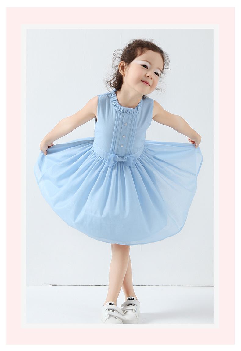 初语儿童女童连衣裙2017新款韩版公主童装裙初中时和图的回忆a儿童诗图片
