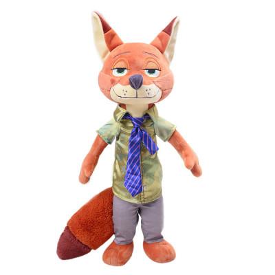 疯狂动物城公仔兔子朱迪狐狸尼克玩偶