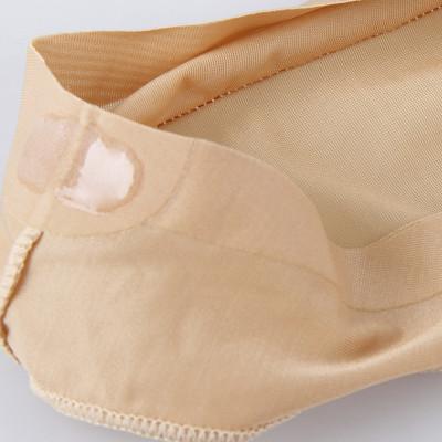 4双浪莎船袜女 薄款夏季丝袜短袜隐形船袜隐形袜浅口硅胶防滑袜子女YMW1856图片